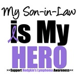 Hodgkin's Lymphoma Hero (Son-in-Law) Shirts