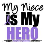 Hodgkin's Lymphoma Hero (Niece) Shirts