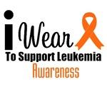 I Wear Orange Ribbon Leukemia Shirts