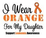 I Wear Orange For My Daughter Grunge Shirts