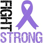 Hodgkin's Lymphoma Fight Strong Grunge Shirts & Gi