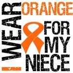 I Wear Orange For My Niece Shirts & Gifts