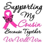 Breast Cancer Support (Cousin) Shirts & Gifts