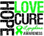 Hope Love Cure Lymphoma Shirts & Gifts