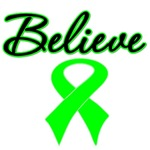 Lymphoma Believe Shirts, Tees & Gifts