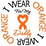 I Wear Orange Daddy Leukemia Shirts