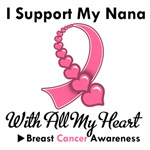 Breast Cancer I Support My Nana T-Shirts & Gifts