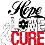 Lung Cancer HOPE LOVE CURE T-Shirts & Gifts