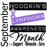 Hodgkin's Lymphoma Disease Awareness Month Shirts