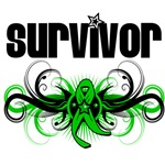 Grunge Winged Emblem Stem Cell Transplant Survivor