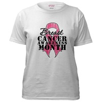 Pink Ribbon Month - Breast Cancer Shirts