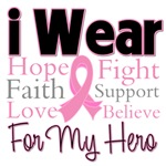 I Wear Pink Support - Breast Cancer Shirts