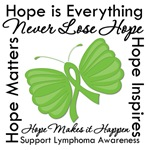 Hope Lymphoma Butterfly Shirts and Gifts