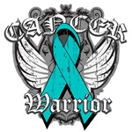 Ovarian Cancer Warrior Fighter Wings Shirts
