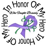 In Honor of My Hero Hodgkin's Lymphoma Shirts