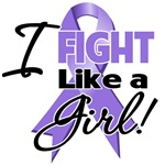 I Fight Like a Girl Hodgkin's Lymphoma Shirts