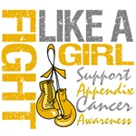 Gloves Fight Appendix Cancer Shirts and Gifts