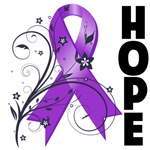 Lupus Hope Floral Ribbon Shirts and Gifts