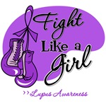 Fight Like a Girl Gloves Lupus
