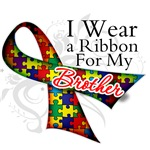 For My Brother - Autism T-Shirts, Apparel and Gift