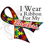 For My Brothers - Autism Ribbon Shirts and Gifts