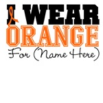 Custom I Wear Leukemia Shirts