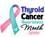 Thyroid Cancer Month Shirts and Gifts