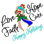Holiday Hope Thyroid Cancer Shirts