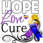 Hope Cure Bladder Cancer Shirts