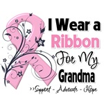 Grandma Pink Ribbon Breast Cancer Shirts