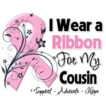 Cousin Pink Ribbon Breast Cancer Shirts