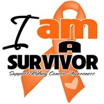I am a Survivor Kidney Cancer Shirts