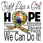 Fight We Can Do It Autism Shirts