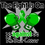 The Fight is On Against Bile Duct Cancer Shirts