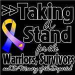 Taking a Stand Bladder Cancer Shirts