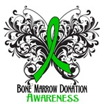 Bone Marrow Donation Butterfly Shirts and Gifts