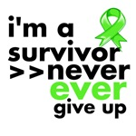 Never Give Up Lymphoma Shirts and Gifts