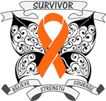 Leukemia Survivor Butterfly Shirts