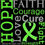 Hope Faith Courage Non-Hodgkin Lymphoma Shirts