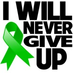 I Will Never Give Up Bile Duct Cancer Shirts