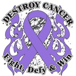 Destroy Hodgkins Lymphoma Cancer Shirts and Gear