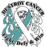 Destroy Cervical Cancer Shirts and Gear