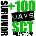 100 Days SCT Survivor Milestone Shirts