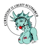 Censorship is Liberty Restrained
