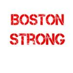 Red Grunge Boston Strong