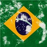 Vintage Brazilian Flag