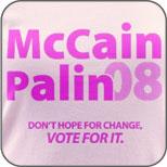 McCain Palin 08 Pink