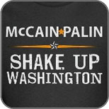 McCain Palin: Shake Up Washington