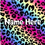 Personalized Neon Leopard