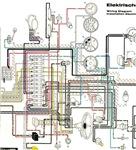 1960 Porsche 365B Wiring Diagram